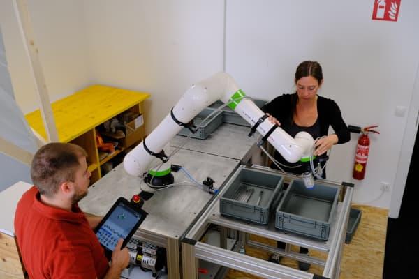 Einschulung-Robotik